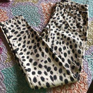 JOE'S Jeans Leopard Print Skinny Jeans🐆🐆🐆